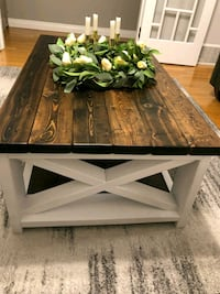 Hand made rustic coffee table Surrey, V3S 4E8