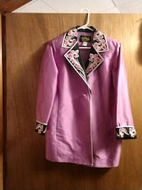 purple and white embroidered Bob Mackie Jacket Colorado Springs, 80906
