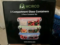3 Compartment Glass Containers  Bakersfield, 93313