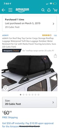 Adakit car roof bag The Village, 73120