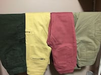 4 Cargo pants all for 10 size 2 Calgary, T3K 5N4