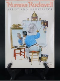 VINTAGE NORMAN ROCKWELL COFFEE TABLE BOOK Syracuse, 13208