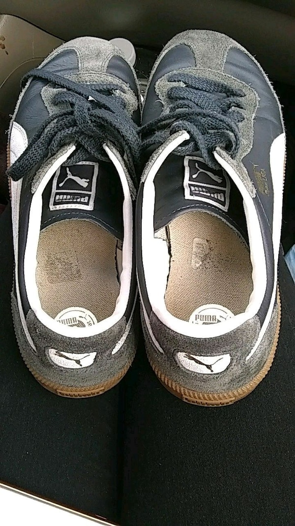 a3ac1a18550caf Used pair of black-and-white Nike sneakers for sale in Denver - letgo