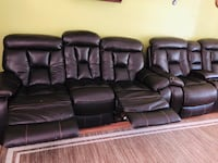 Leather Recliners Bel Air, 21015