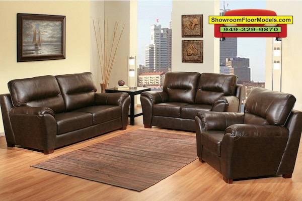 Phenomenal Caprice 3Pc Top Grain Leather Sofa Set By Abbyson Living Alphanode Cool Chair Designs And Ideas Alphanodeonline