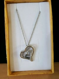 Diamonds necklace, sterling Mayfield Heights, 44124