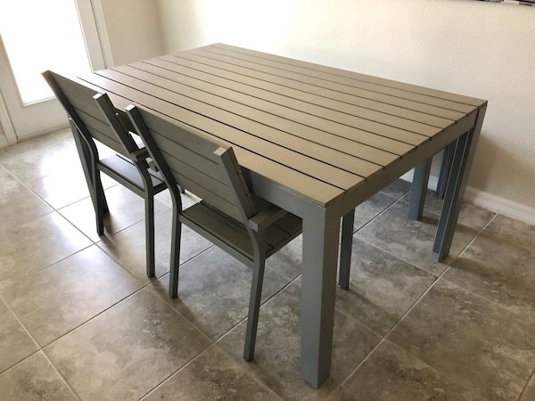 Ikea Falster Table Chairs Bench