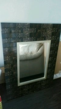 Fancy mirror for home entrance. Mississauga, L5B 4A1