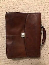 Tony perotti brown leather briefcase Vancouver, V6P 3T7