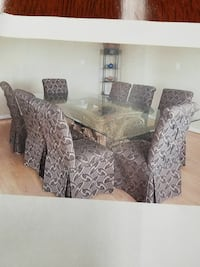 Gray and chocolate dining set - Price Reduced! Arlington, 22202