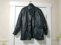 Genuine Leather Jacket / overcoat.  Lowell