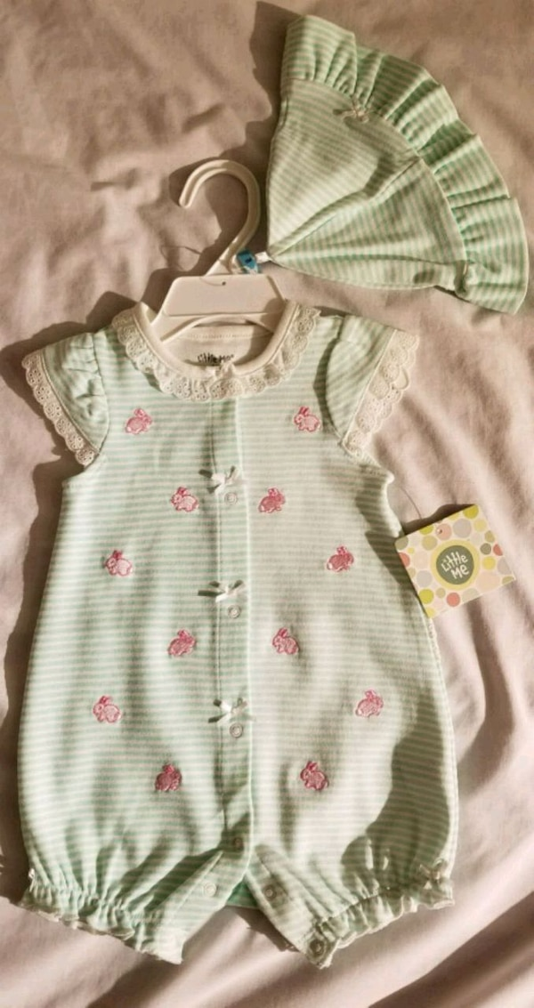 Super cute Spring-Summer outfit with a hat 6 month 6a785767-7f77-4411-a72c-11baf226fbf0