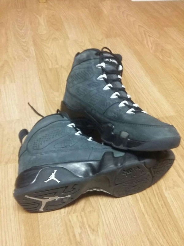 the best attitude 3f452 0da18 Air jordan 9's anthracite