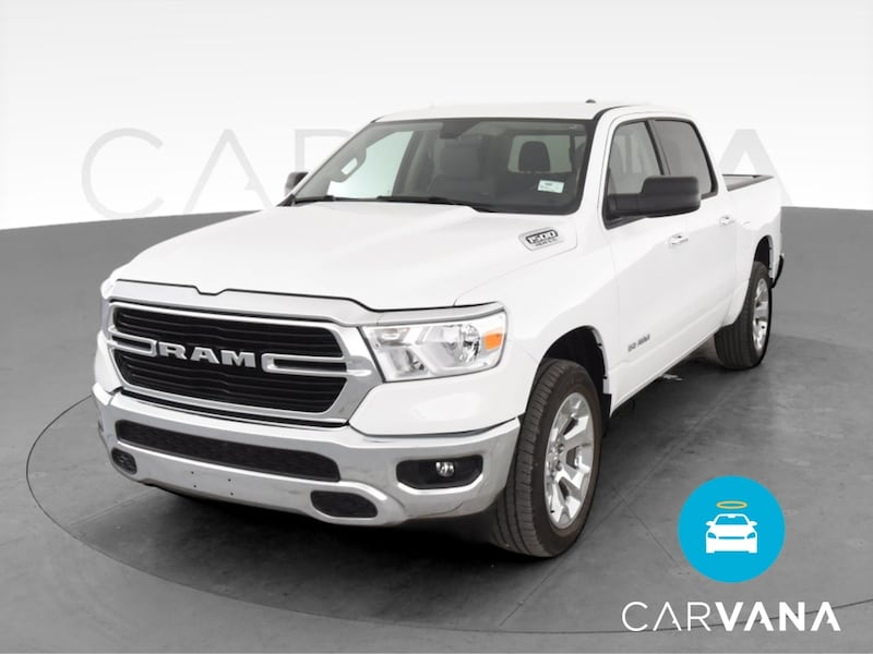 2019 Ram 1500 Crew Cab pickup Big Horn Pickup 4D 5 1/2 ft White 0