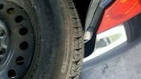 4 rims and tires 225/60/r16 Akron, 44313