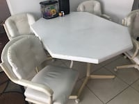 Kitchen Table +4 chairs, dining table, card table Largo, 33773