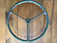 Antique Military Jeep Willys Steering Wheel. Army Truck Ottawa, K0A