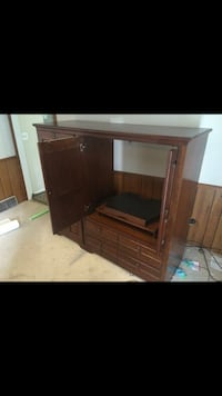 Brown wooden cabinet with drawer Lansing, 48915