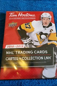 NHL trading cards collection