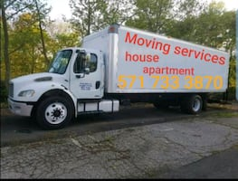 Moving  services  100 per hour whit two guys
