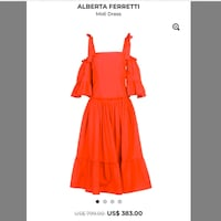 HOT ITEM* See details! H&M Plumeti Tiered Off Shoulder Dress, Size 6 Mississauga