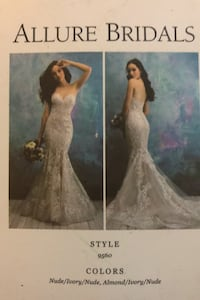 NEW and never worn wedding dress in perfect condition!!! Surrey, V3Z 0S9