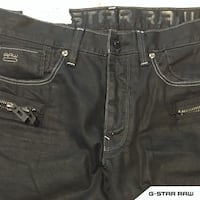 [NEW] G-Star Raw Black Denim | 34