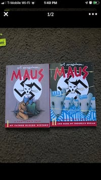 Maus books 1 and 2
