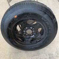 Goodyear Wrangler ST P235/75R16 Tire with Rim - NEW - 235/75/16