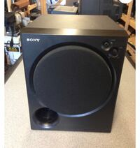 Sony subwoofer, 2 Boze speakers and Sony receiver
