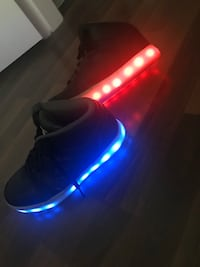 Skechers light up hi-tops