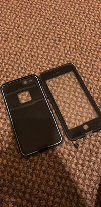 black iPhone front and rear cases Redding, 96001