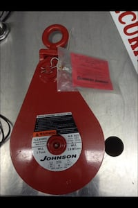 red Johnson pulley