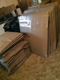 Moving boxes - large, medium, small Laval, H7G 3X9