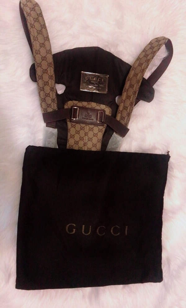 f8af185b1e7 Used Gucci baby carrier... for sale in Pittsburg - letgo