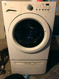 MOVING SALE KENMORE FRONT LOAD WASHER & DRYER W/ STORAGE DRAWERS INCLU Southfield