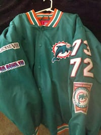 green, orange and white Miami Dolphins letterman j Atlanta, 30312