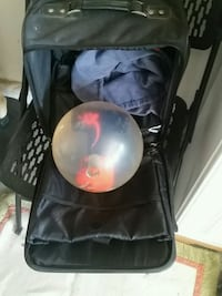 Bowling Ball with Rolling Travel Case Las Vegas, 89149