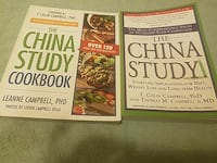 two The China Study books