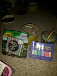 Childrens chalk set