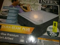 New queen size air bed 2229 mi
