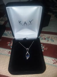 NEW INFINITY NECKLACE SAPPHIRE AND DIAMONDS  Summerville, 29483