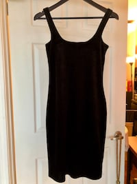 Black velvet cocktail dress Toronto, M5B 1S5