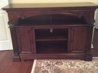 """TV  console 5ft  x 40""""H x20"""" D Never used. New condition. Mahogany.mays Landing NJfu Mays Landing, 08330"""