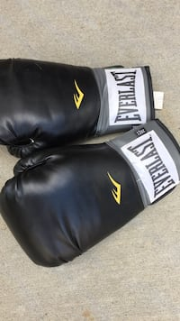 pair of black-and-white Everlast boxing gloves Edmonton, T5Y 0R7