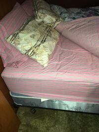Queen bed and box spring West Warwick, 02893