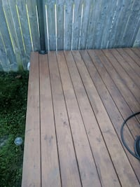 13 x10 wooden  deck built of 2x6  all was sealed with Thompson stain w Kitchener, N2E 4K2