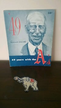 CONNIE MACK 49 YEARS WITH THE A's Bethlehem, 18018