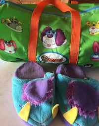 Puppy Stompeeze and Duffle Bag !