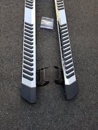 Factory OEM 2018 Ford F-150 Chrome/Black Running Boards Chantilly